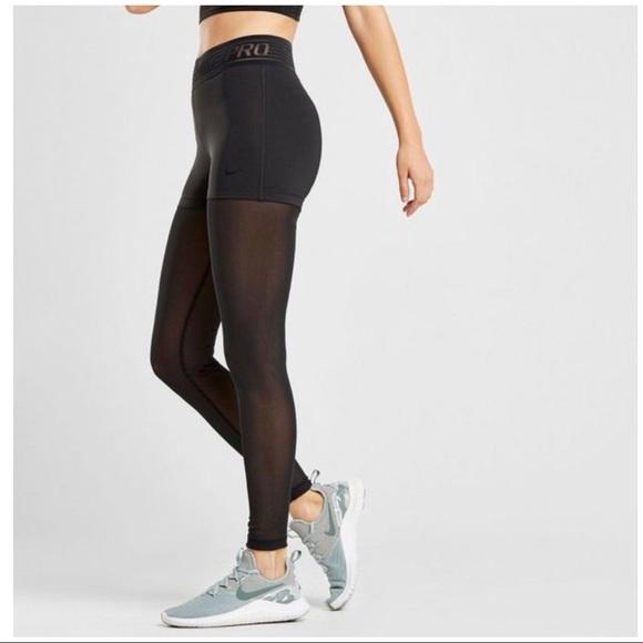 cd008f6aea750 Nike Pants | Pro Deluxe Training Tights Nwt 932153 010 | Poshmark